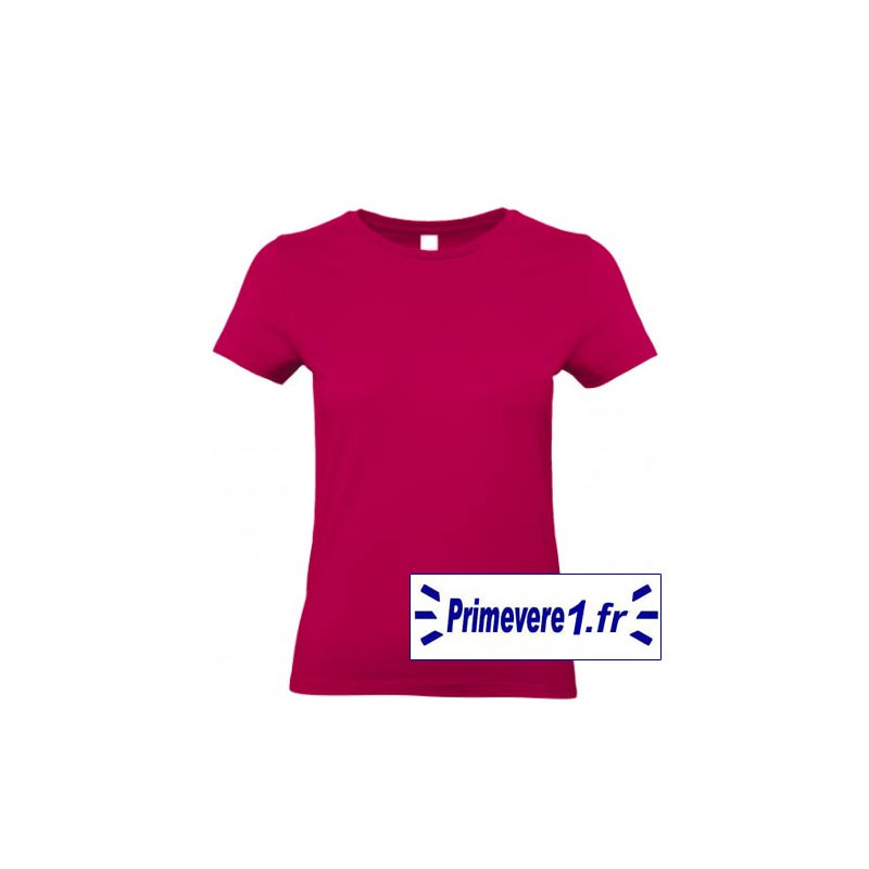 Tee shirt femme couleur Sorbet