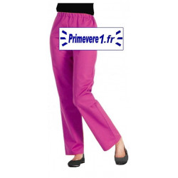 Pantalon professionnel rose