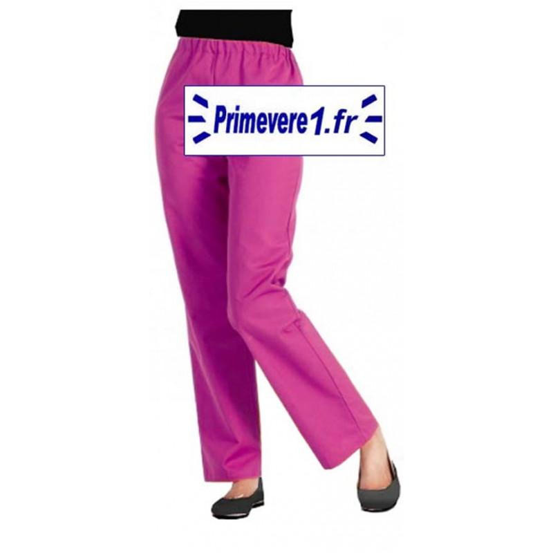Pantalon professionnel rose