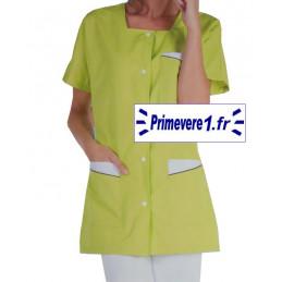 Tunique médicale femme Cali couleur vert pomme