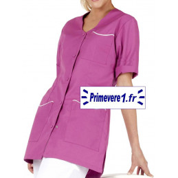 Tunique médicale Laurie couleur rosa