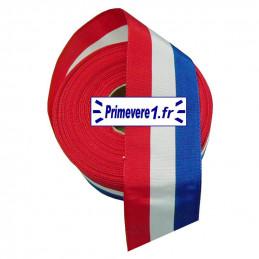 Ruban tricolore 50 mm de...