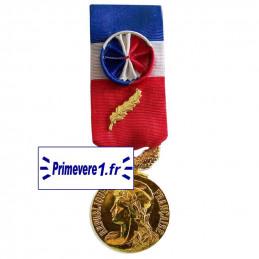 Médaille du Travail Or - 35 ans d'ancienneté