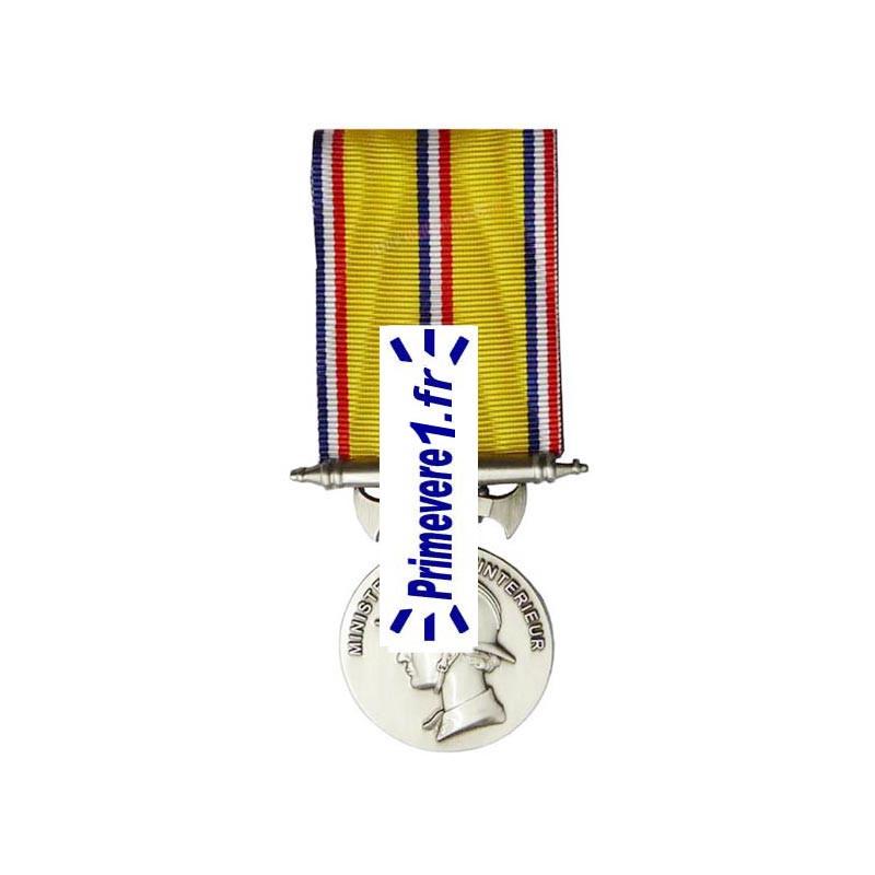 Médaille pompier 10 ans d'ancienneté