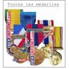 Autres médailles sur Stockuniformes.com
