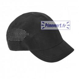 Casquette noire métiers de bouche - visière 5 cm