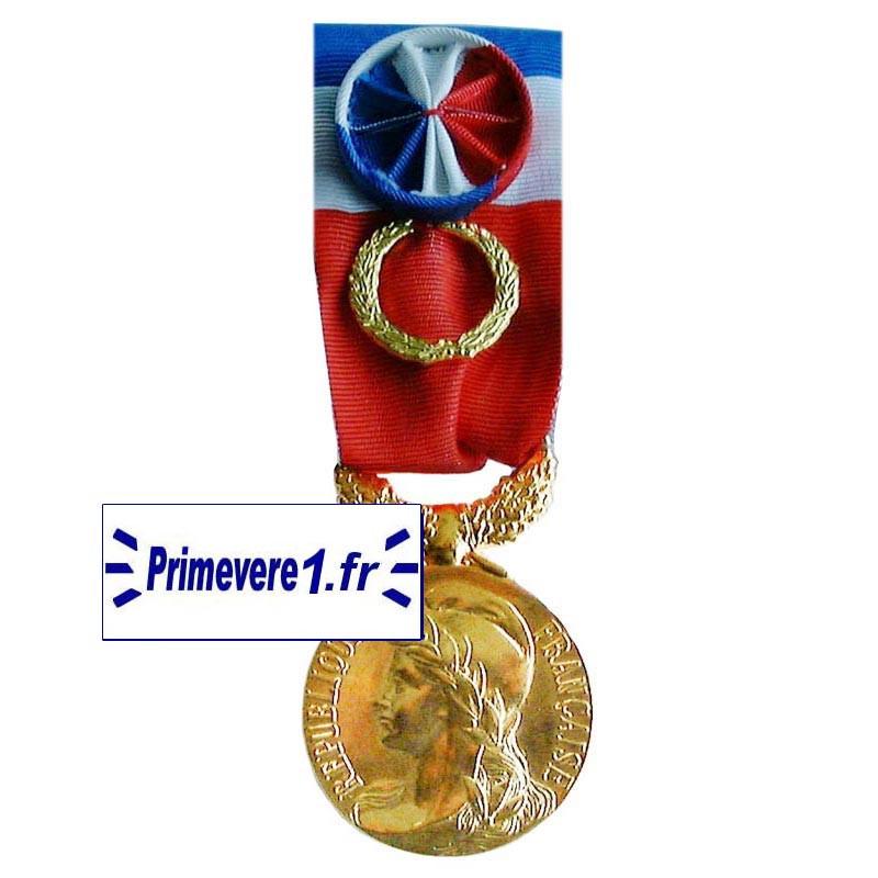 Médaille du Travail Grand Or - 40 ans d'ancienneté