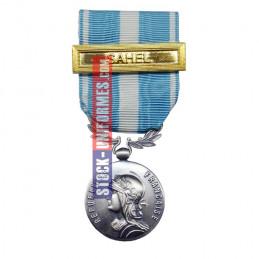 Médaille ordonnance Outre-Mer - Agrafe Sahel