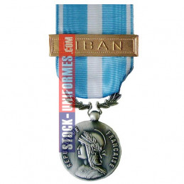 Médaille ordonnance Outre-Mer - Agrafe Liban