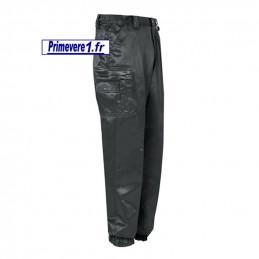 Pantalon noir brillant antistatique - pour la sécurité privée