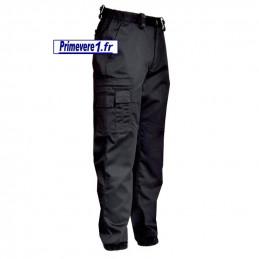 Pantalon noir d'intervention - pour la sécurité privée