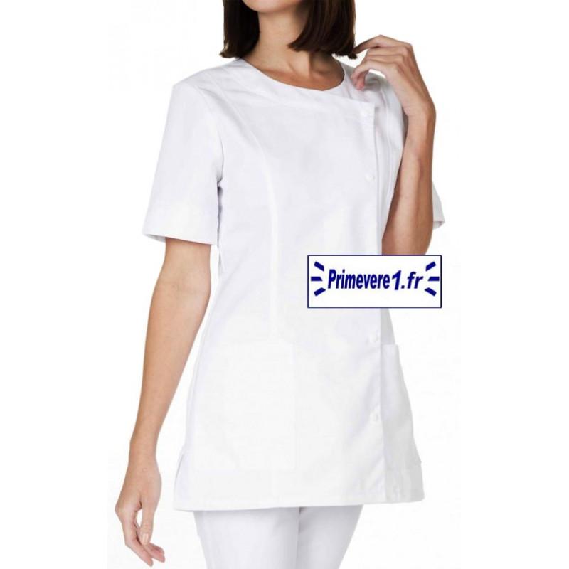 Tunique médicale Femme Naty couleur Blanche
