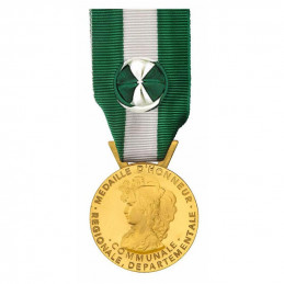 Médaille ordonnance 35 Ans Régionale Départementale Communale | primevere.fr