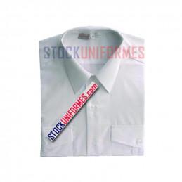 Chemise blanche manches longues d'uniforme