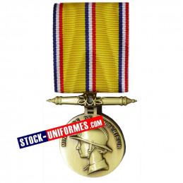 Médaille Bronze Sapeurs-pompiers 10 ans d'ancienneté