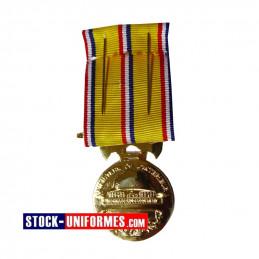 Médaille Or Sapeurs-pompiers 30 ans d'ancienneté