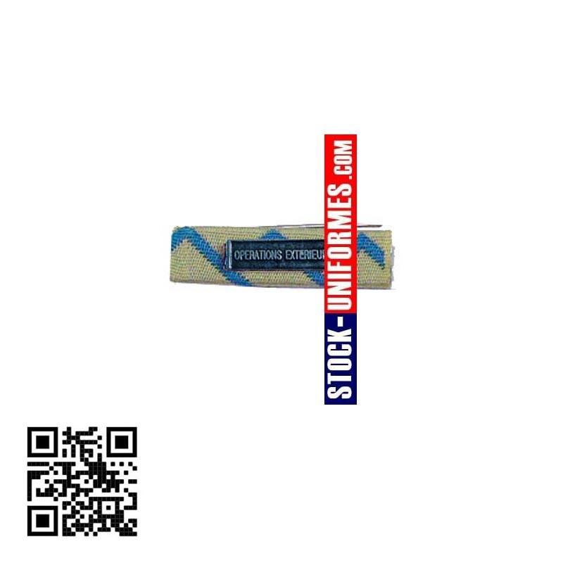 Barrette Reconnaissance de la Nation avec agrafe OPERATIONS EXTERIEURES
