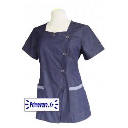 Tunique médicale Femme Fiona couleur Jean's