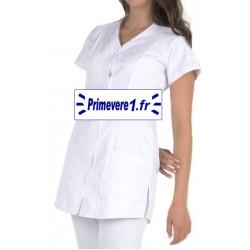 Tunique médicale Femme Anna couleur Blanche