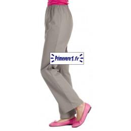 Pantalon professionnel couleur Taupe