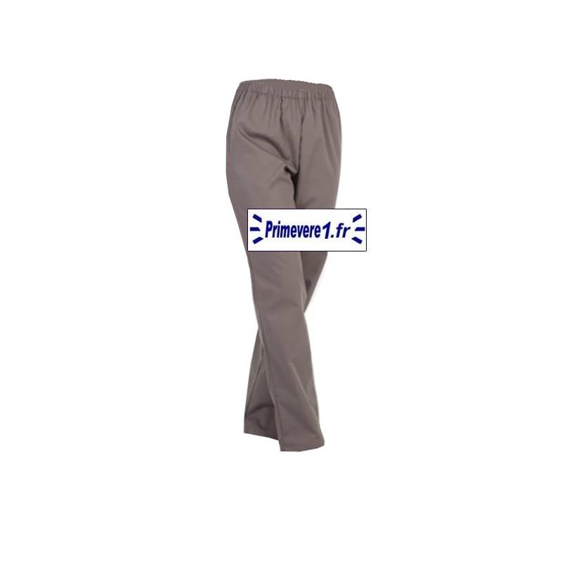 Pantalon professionnel couleur cacao