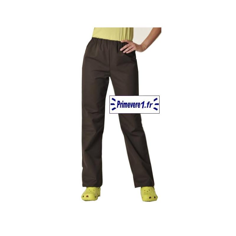 Pantalon professionnel choco