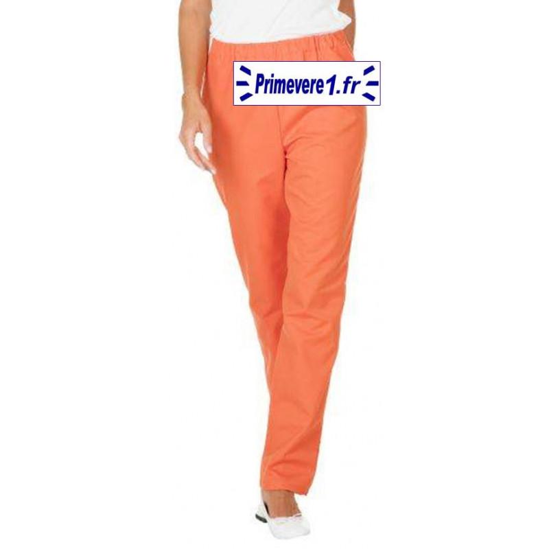 Pantalon professionnel orange