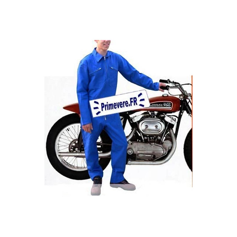 Combinaison de travail bleu bugatti 100% coton