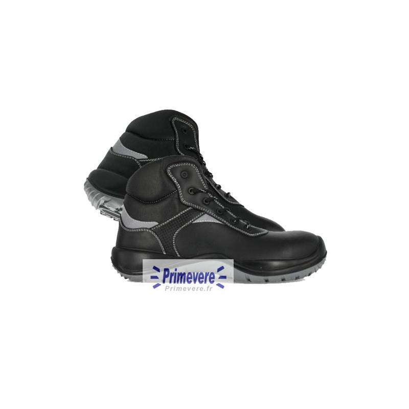 Chaussures de sécurité hautes noires