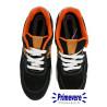 Chaussures baskets de sécurité noires et orange