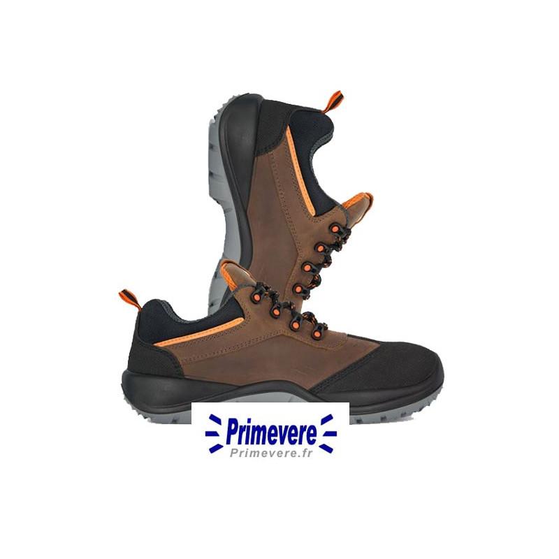 Chaussures basses de sécurité marron