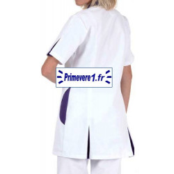 Tunique médicale couleur blanche