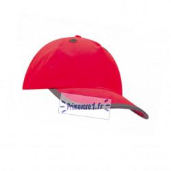 casquette rouge à coque