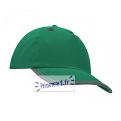 casquette verte à coque