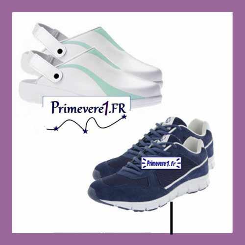 Chaussures sabots baskets professionnels