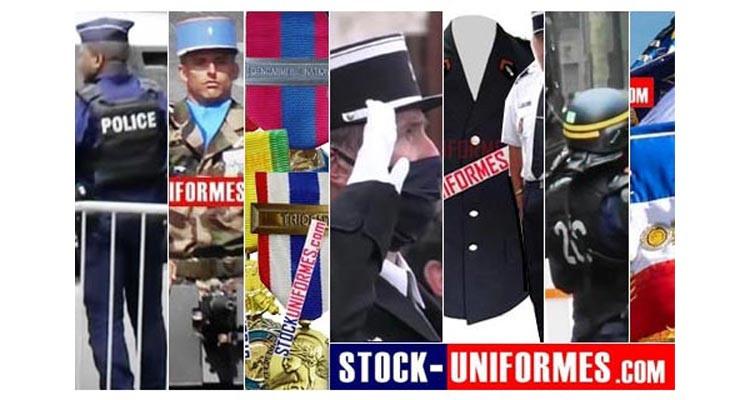 uniformes et médailles