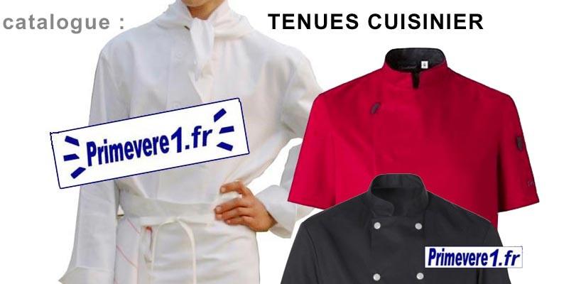 vente de tenues de cuisinier